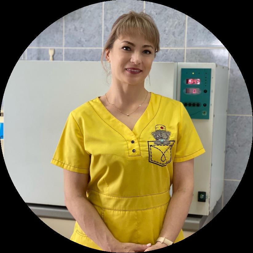Зятькова Оксана Владимировна медицинская сестра кабинета стоматологии